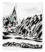 Bonifacy Cat Fleece Blanket