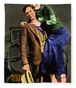 Bonnie And Clyde 20130515 Fleece Blanket