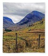 Bonny Scotland Fleece Blanket