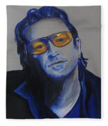 Bono U2 Fleece Blanket