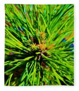 Bonzi Pine Fleece Blanket