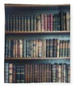 Bookshelf Fleece Blanket
