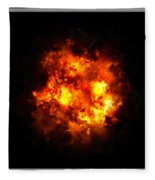 Boom... Fleece Blanket