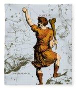 Bootes Constellation, 1687 Fleece Blanket