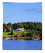 Booth Bay Fleece Blanket