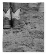 Boots And Horse Hooves Fleece Blanket