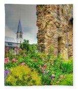 Boppard Garden Ruins Fleece Blanket
