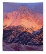 Borah Peak  Fleece Blanket