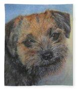 Border Terrier Jack Fleece Blanket