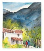 Borgo In Italy 01 Fleece Blanket