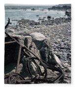Bornholm Bicycle Fleece Blanket
