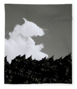 Borobudur Sky Cloud Fleece Blanket