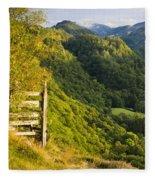 Borrowdale Valley - Lake District Fleece Blanket