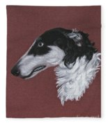 Borzoi Fleece Blanket