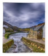 Boscastle Harbour Fleece Blanket