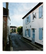 Bosham Hight Street West Sussex Fleece Blanket