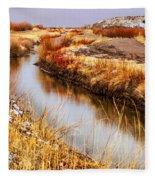 Bosque Canal Fleece Blanket