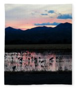 Bosque Fleece Blanket