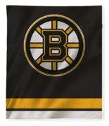 Boston Bruins Uniform Fleece Blanket