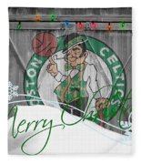 Boston Celtics Fleece Blanket