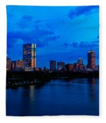 Boston Evening Fleece Blanket