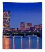 Boston Nights 2 Fleece Blanket