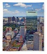 Boston Fleece Blanket