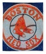 Red Sox Round Wall Decor