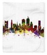 Boston Usa Fleece Blanket
