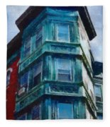Boston's North End Fleece Blanket