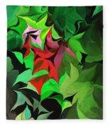 Botanical Fantasy 071613 Fleece Blanket
