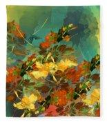 Botanical Fantasy 090914 Fleece Blanket