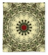 Bottle Brush Kaleidoscope Fleece Blanket