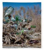 Bottle Bush Fleece Blanket