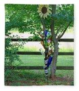 Bottle Tree Fleece Blanket