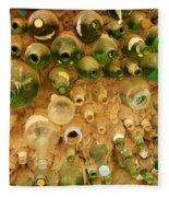 Bottles In The Wall Fleece Blanket
