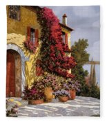 Bouganville Fleece Blanket