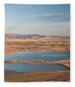 Boulder, Co, Boulder Reservoir Fleece Blanket