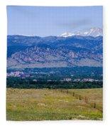 Boulder In The Summertime Fleece Blanket