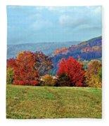 Bounty Of The Hills Fleece Blanket