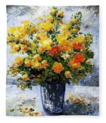 Bouquet D'estate 035 Fleece Blanket