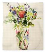 Bouquet  Fleece Blanket