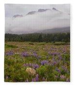 Bouquet Of Glacier Fleece Blanket