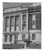Bourbon County Courthouse 3 Fleece Blanket