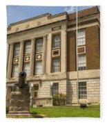 Bourbon County Courthouse 4 Fleece Blanket