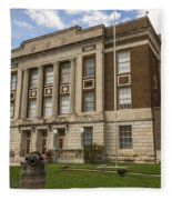 Bourbon County Courthouse 5 Fleece Blanket