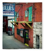 Bourbon Street Blues Fleece Blanket