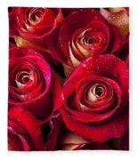 Boutique Roses Fleece Blanket