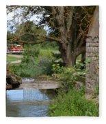 Bouy By Canal Fleece Blanket