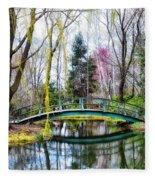 Bow Bridge - Grounds For Schulpture Fleece Blanket
